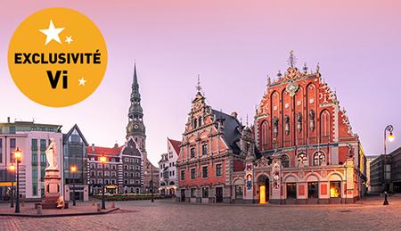 Pays Baltes (Riga) Mai 2019