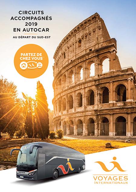 Circuits Accompagnés 2019 en Autocar - Au départ du Sud-Est