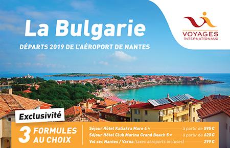 BULGARIE 2019 départ NTE